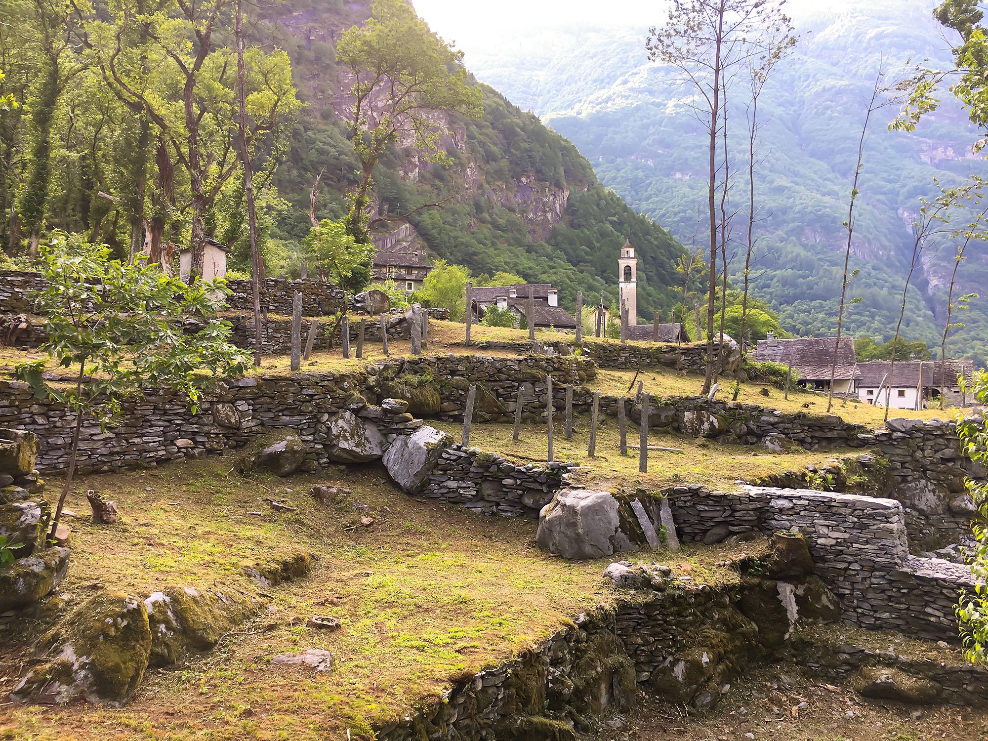 Les sentiers de la pierre